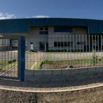 Frente Planta Industrial