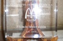 Premio Innovacion 2004 por Mc Donalds Argentina