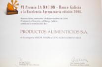 Terna Premio La Nacion-Bco. Galicia
