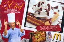 Desarrollo de Waffles para McDonalds Argentina